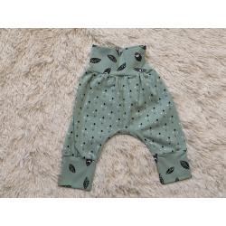 Mitwachshose Baby hellgrün