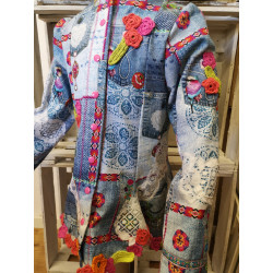 Jacke Patchworkstyle