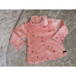 Sweatshirt in Apricot...
